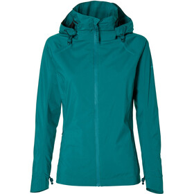 Basil Skane Rain Jacket Women, teal green